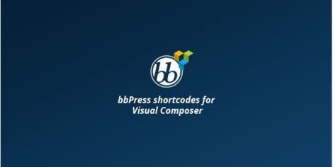 bbPress shortcodes for Visual Composer