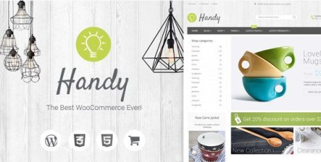 Handy - Handmade Shop WordPress WooCommerce Theme