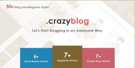 CrazyBlog - Start A Blog or Magazine for Adsense