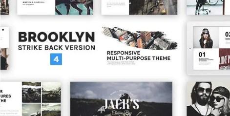 Brooklyn - Responsive Multi-Purpose WordPress Theme