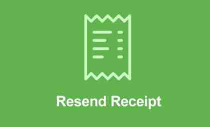 Easy Digital Downloads Resend Receipt Addon