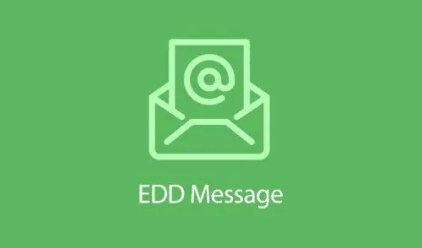 Easy Digital Downloads Message Addon