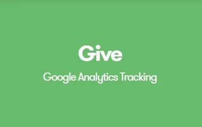 Give Google Analytics Donation Tracking