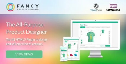 Fancy Product Designer - WooCommerce WordPress
