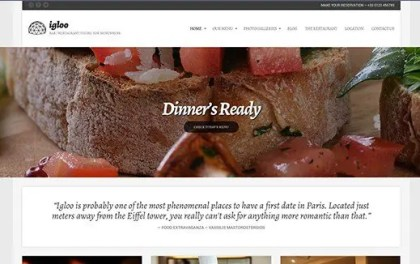 CSS Igniter Igloo WordPress Theme