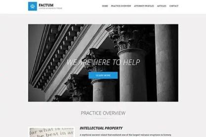 CSS Igniter Factum WordPress Theme