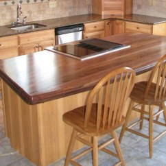 Distressed Kitchen Island Butcher Block Cabinets Knoxville Tn Wood Countertops