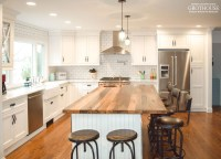 Reclaimed Chestnut Kitchen Island Countertop designed by ...