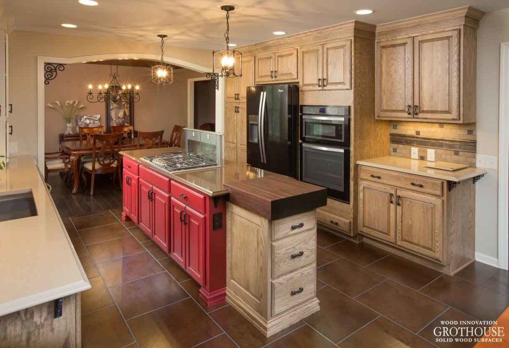 Custom Wood Countertops For Narrow Kitchen Islands Wood Countertop Butcherblock And Bar Top Blog