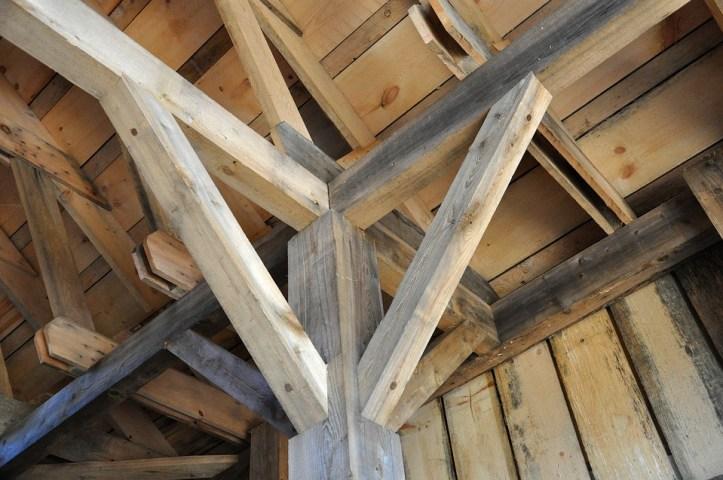 chunky wood posts