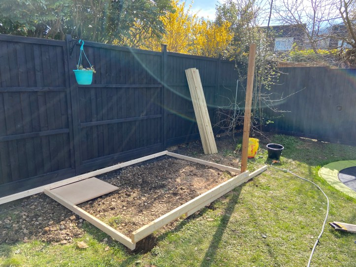 how to build your own decking - the frame