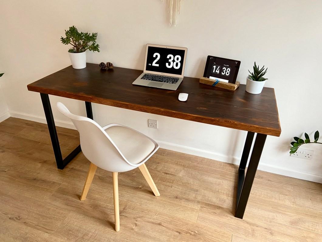 Industrial style desk - computer desk