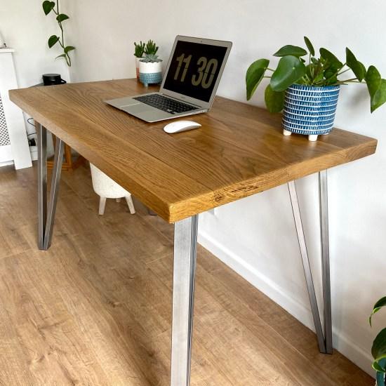 Solid oak desk 3