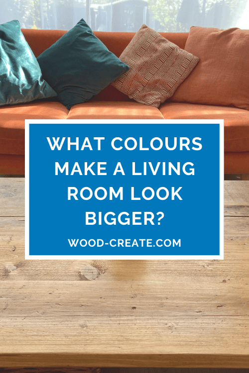 What colours make a living room look bigger?