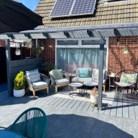 How to build your own veranda for under £500 - DIY veranda