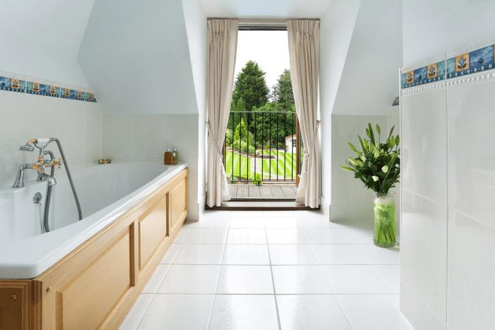 Porcelain tiles for bathroom flooring exploring options