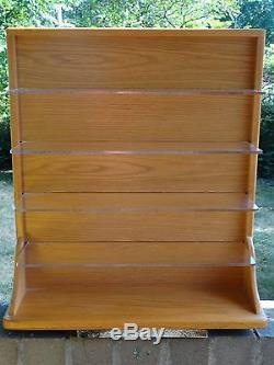 Danbury Mint Wood Display Case Only For 10 124 Scale