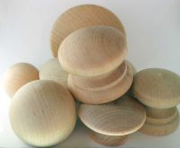 Unfinished Wooden Knobs and Drawer Pulls > Wood-Dowel