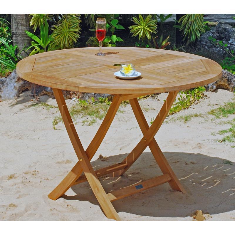 Table De Jardin En Teck Castorama | Table De Jardin En Bois ...