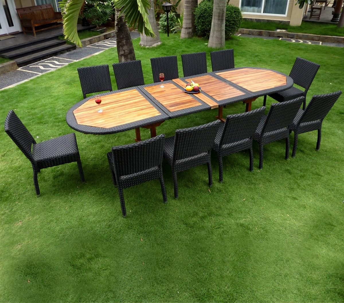 Table De Jardin Teck Entretien   Table De Jardin En Teck Huile Table ...