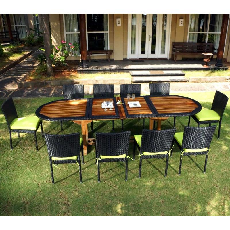 beautiful table de jardin teck super u images. Black Bedroom Furniture Sets. Home Design Ideas