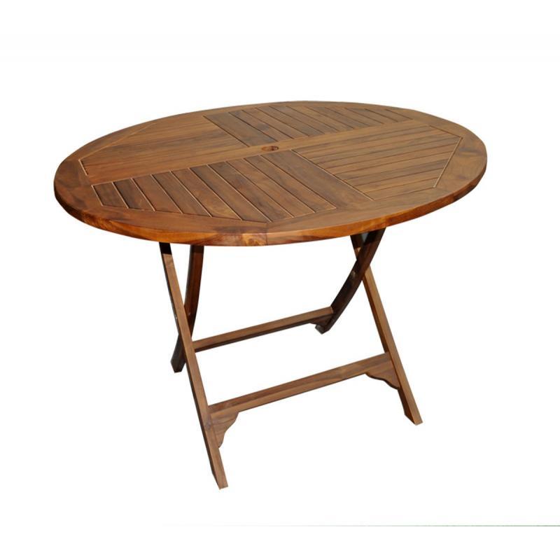 Table Teck Pliante