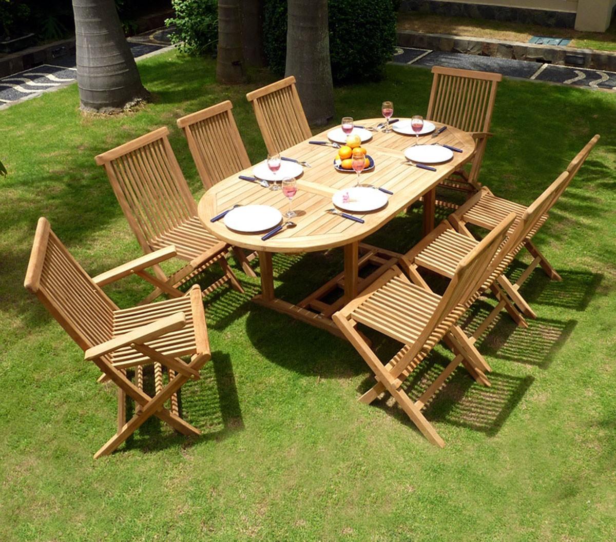 Salon De Jardin En Teck Bali | Vente Salon De Jardin Teck
