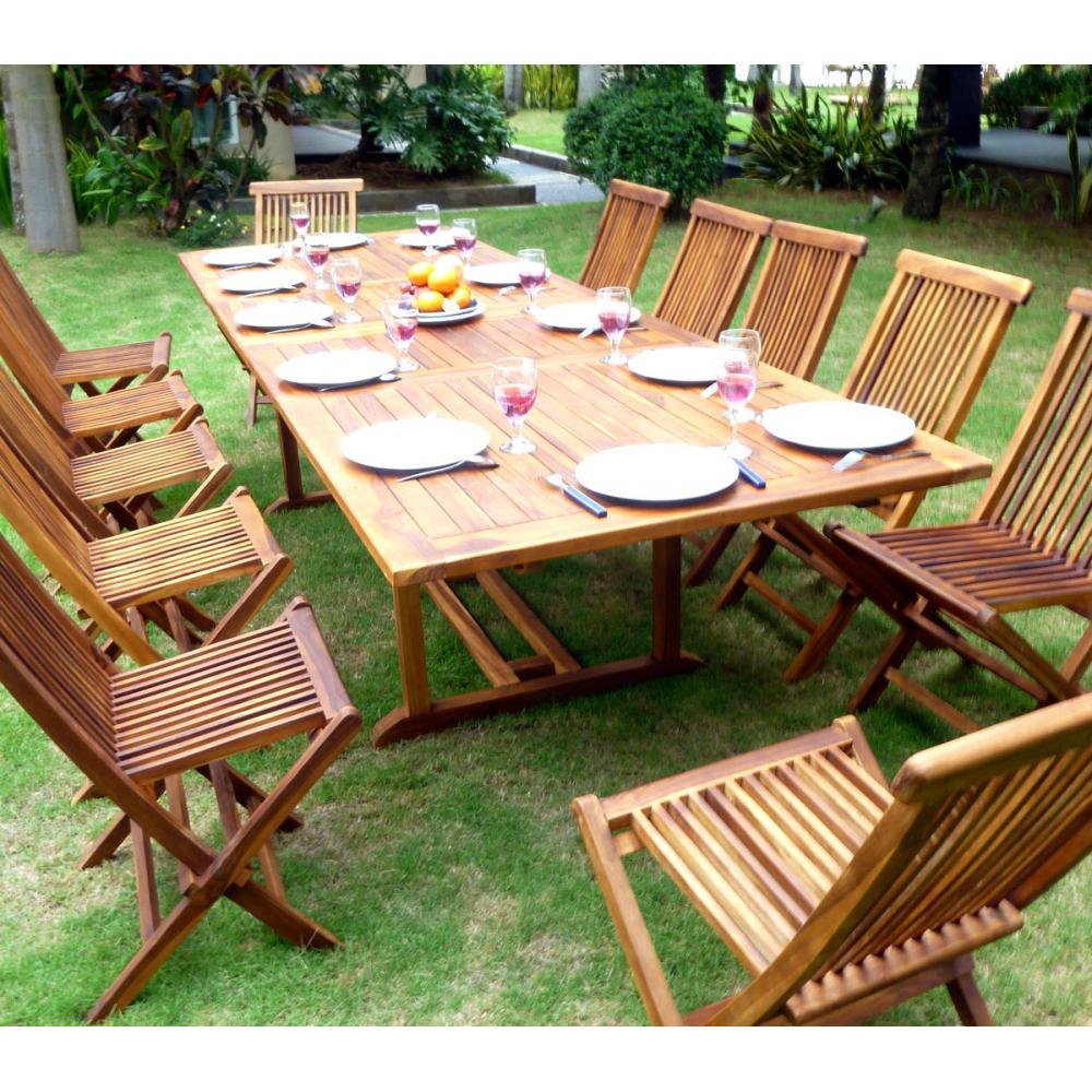 Beautiful Salon De Jardin En Teck Borneo Contemporary - House Design ...