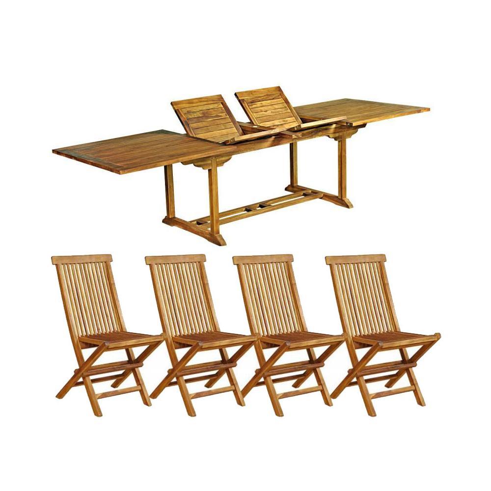 Stunning Table Jardin Teck Borneo Pictures - House Design ...
