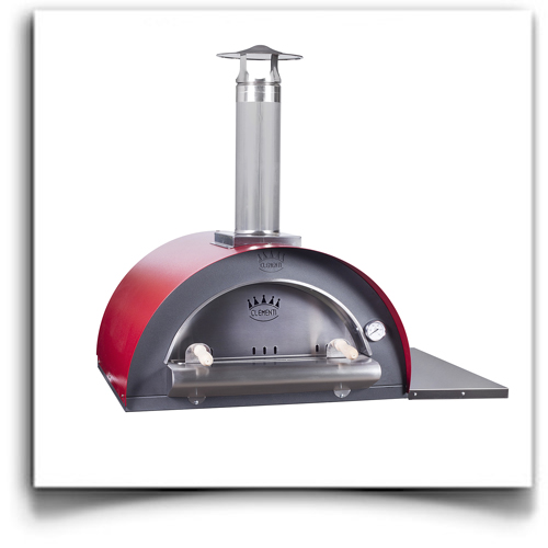 Family With Red Roof Pizza Forno