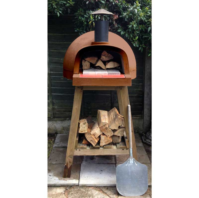 Great Outdoor Kitchen Complete With Pizza Oven: Pizza Forno Full Kit. Wood Fired Pizza Oven