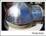 Foil on dome