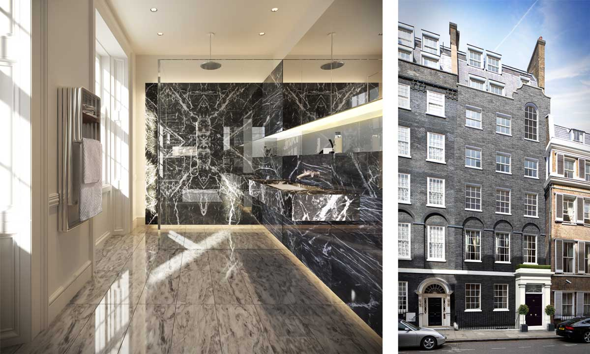 26 Old Queen Street Townhouse By TateHindle @ Wood