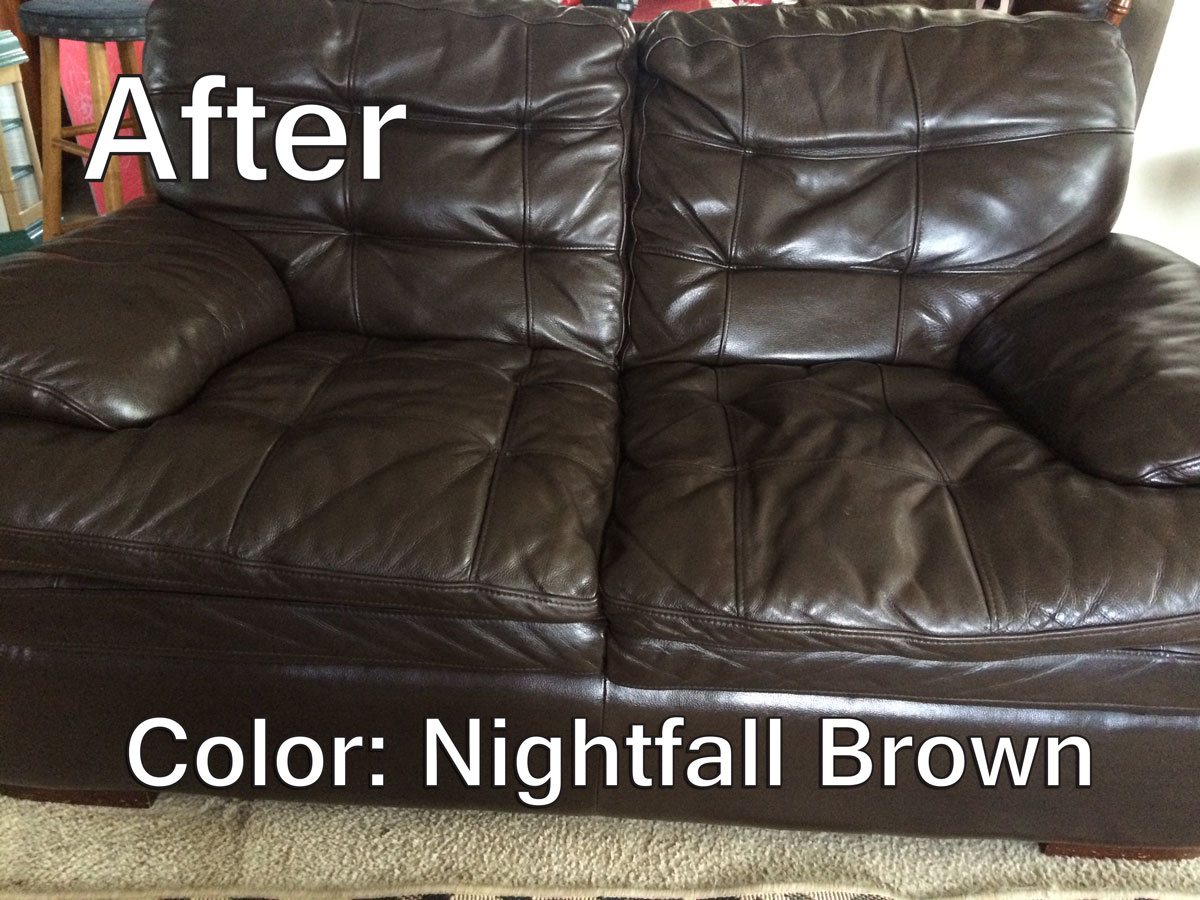 brown leather sofa color restoration england furniture sofas refinish an aid to restorer