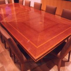 Sectional Sofa Sale Gus Modern Review Makore Dining Table, Mahogany ...