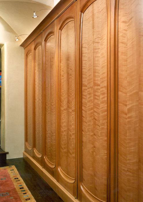 Wood Veneer Interior Wall Panels Doors Fixtures Cabinets