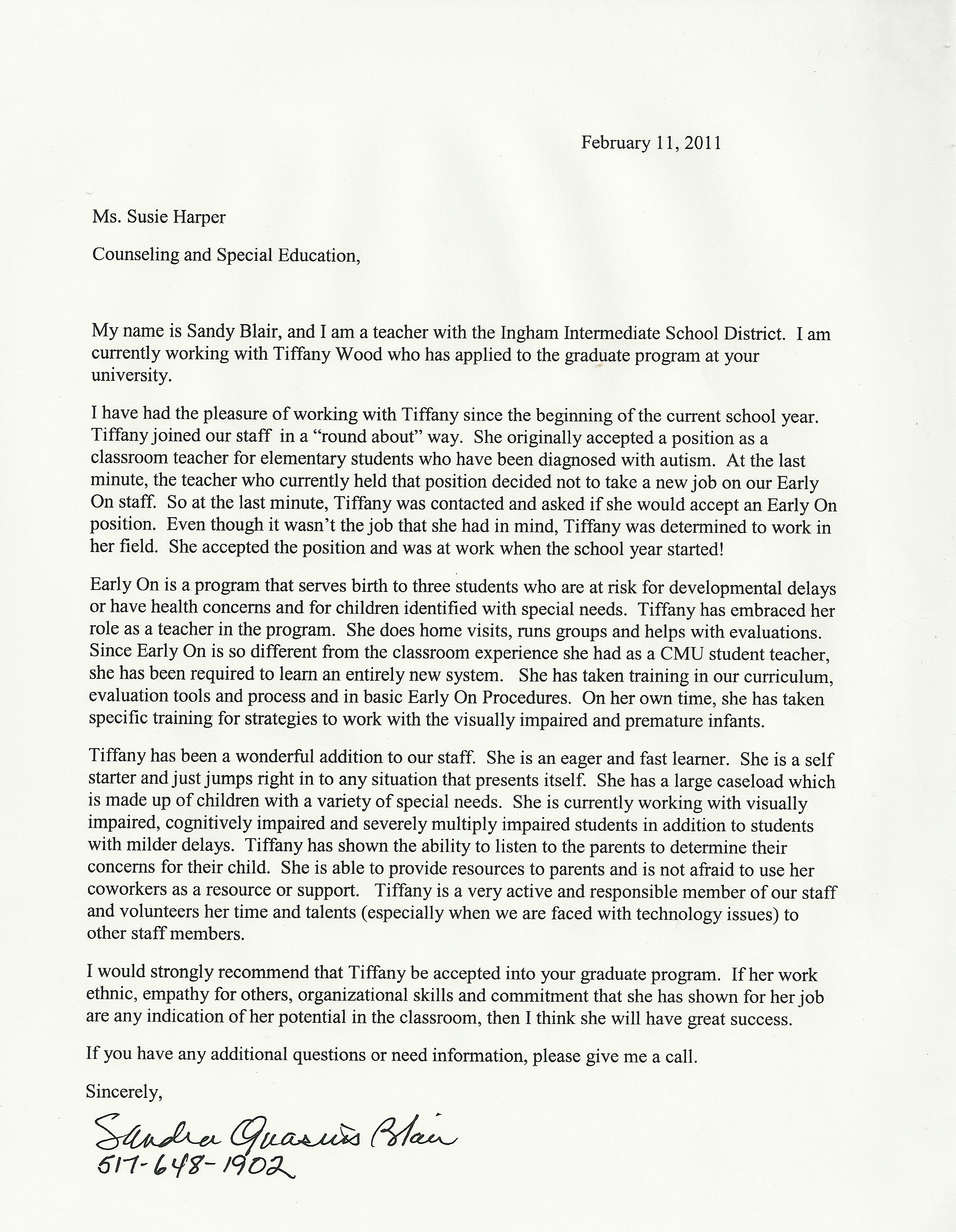 how to write a recommendation letter for a student