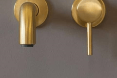 Lavello-brushed-Gold-wastafel-kraan