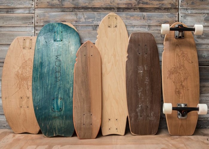 Evolution des prototypes WOODA BOARDS