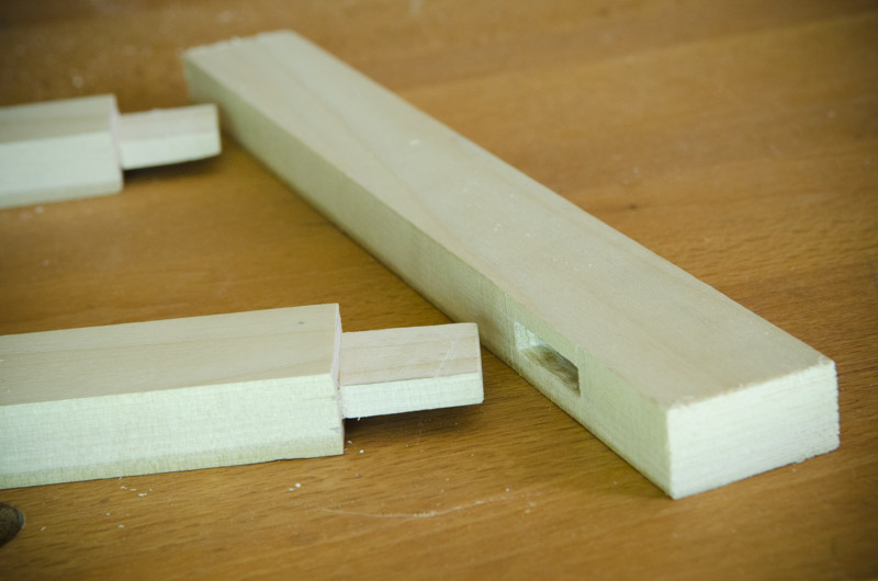 Hand Cut Mortise And Tenon Joint