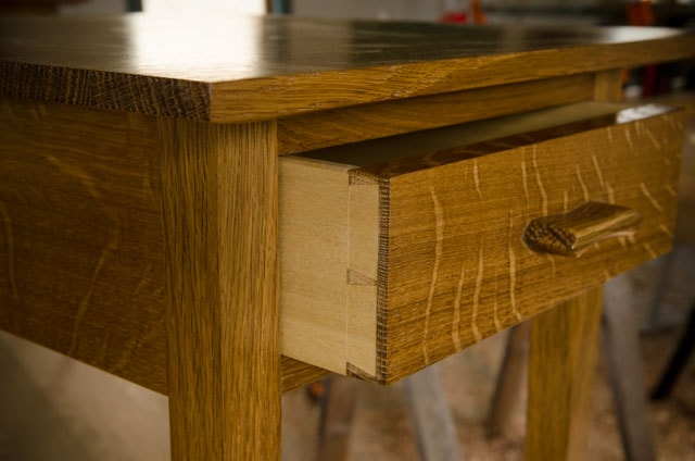 anatomy of an end table and drawer wood and shop