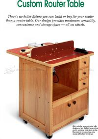 Custom Router Table Plans  WoodArchivist