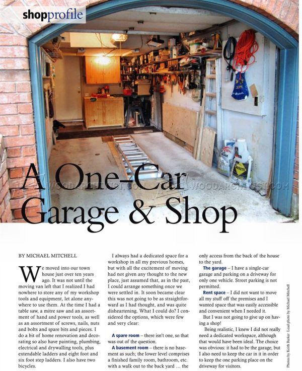 Car Garage Workshop Ideas - House Plans