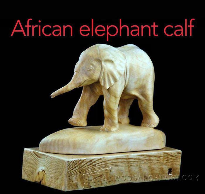 Elephant Carving  Wood Carving Patterns  WoodArchivist