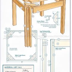 Kitchen Cabinet Plans Cabinets Images Table And Bench • Woodarchivist