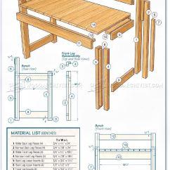 Build Kitchen Table Renovations Ideas And Bench Plans • Woodarchivist