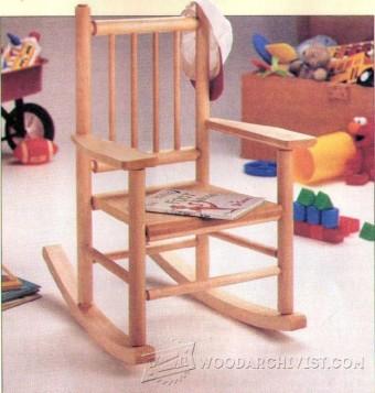 childs wooden rocking chair alera office kids plans • woodarchivist