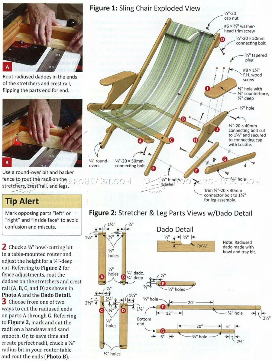 folding recliner lounge chair glass and wood dining table chairs sling plans • woodarchivist