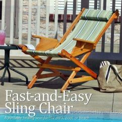 Sling Folding Chairs First Table And Chair Sets For Toddlers Plans • Woodarchivist