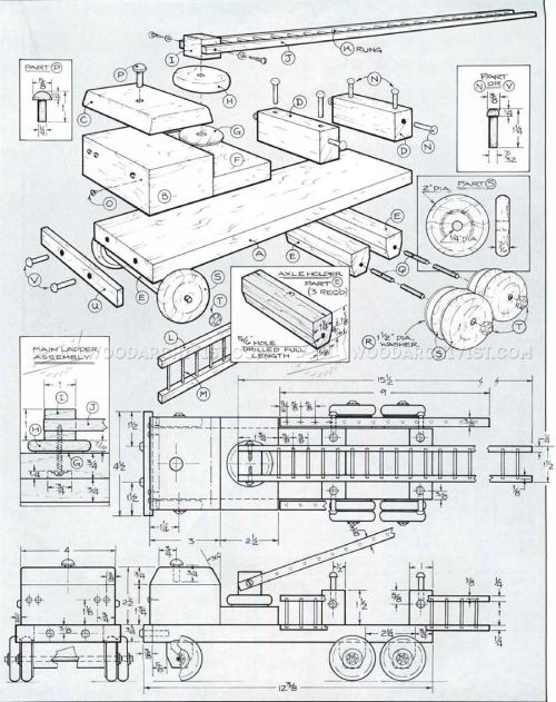 small resolution of wooden fire truck plans wooden fire truck plans